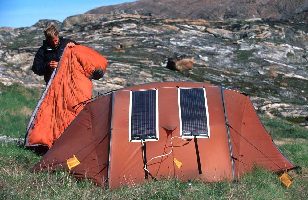 Turystyczne panele słoneczne