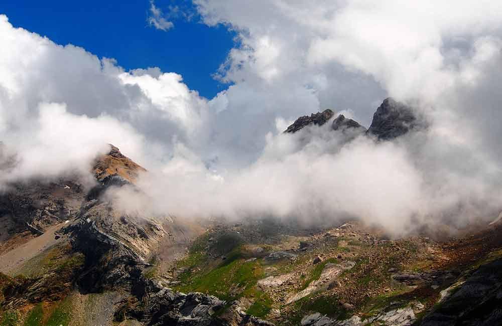 Widok z Pirenejów