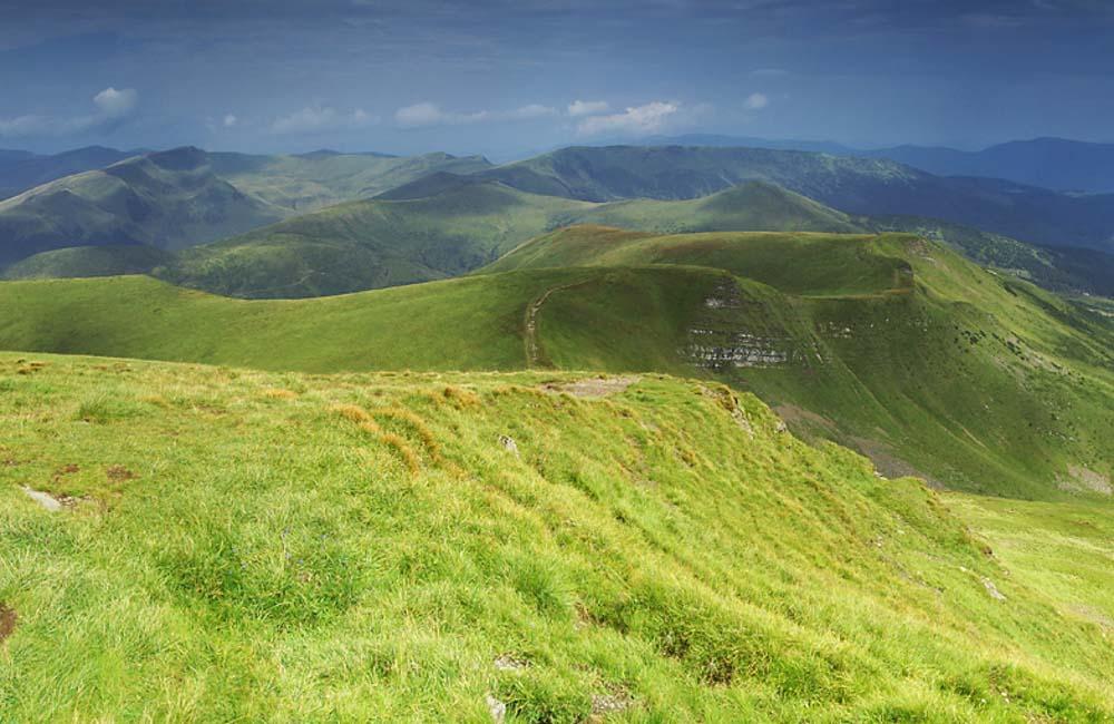 Szlaki górskie Świdowiec