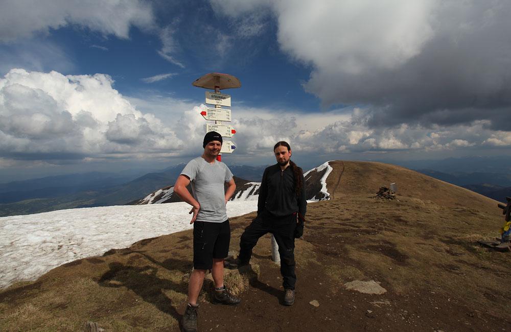 Najwyższy szczyt Świdowca