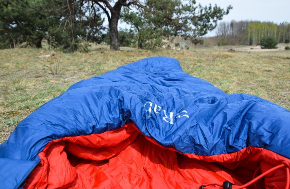 Rab Ascent 500 - test śpiwora puchowego