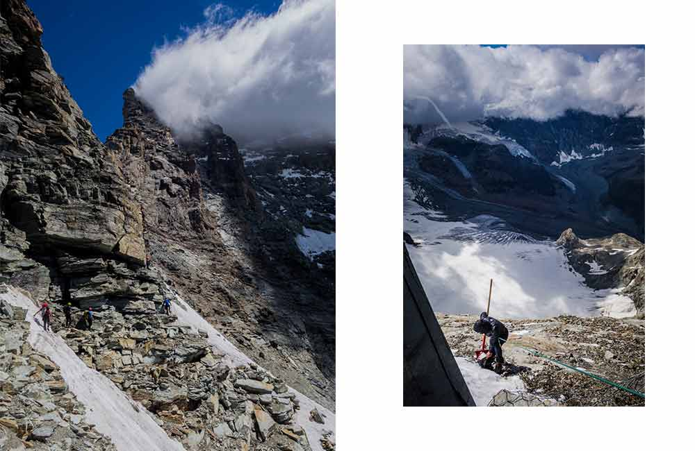 Jak wejść na Matterhorn - droga włoska
