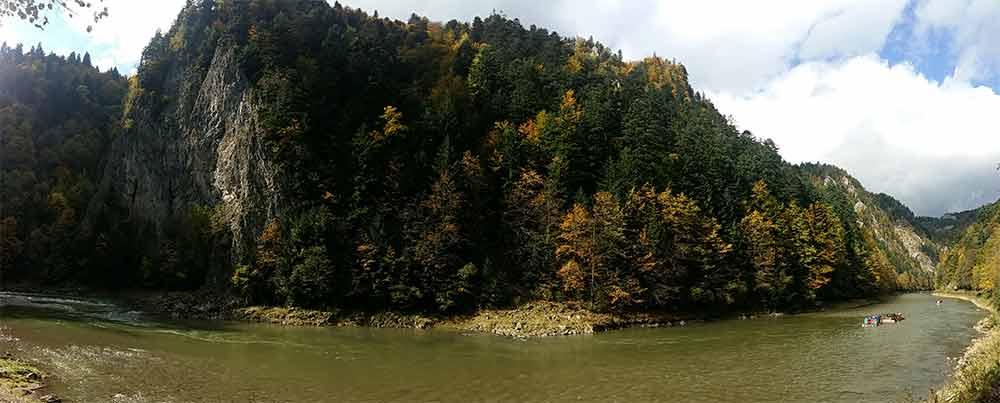 Bieganie nad Dunajcem