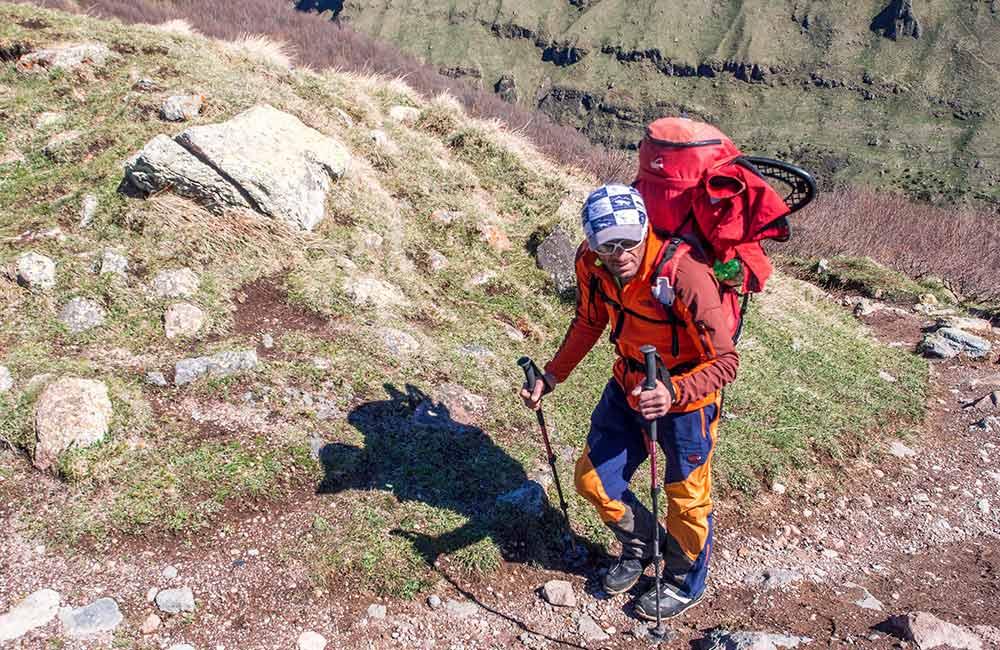 Trekking na Kazbek