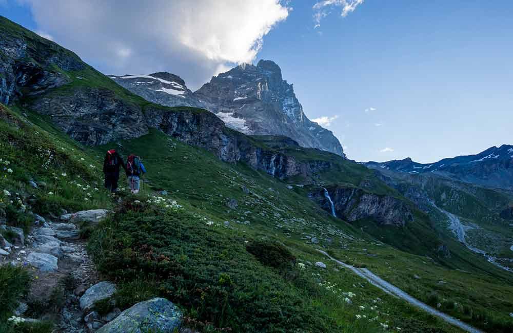 Matterhorn drogą włoską