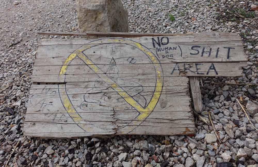 zasady w skałach - gdy złapie nas potrzeba