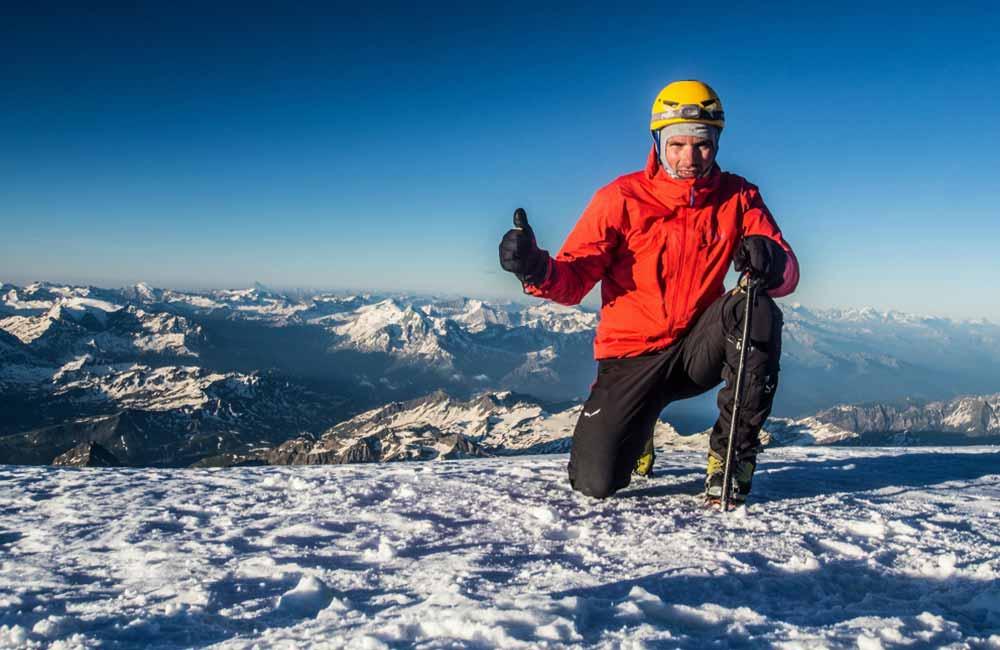 Mont Blanc - sprzęt