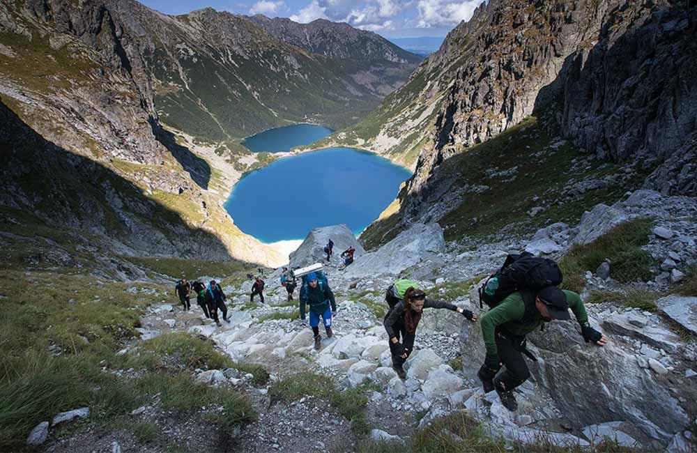 Przygotowanie wycieczki w Tatry