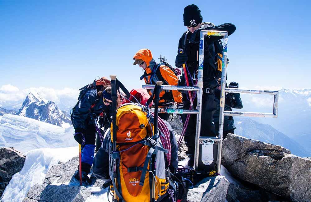 Co spakować do plecaka na Mont Blanc