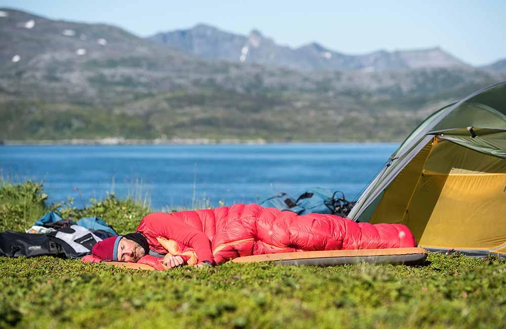 Śpiwór dla podróżnika