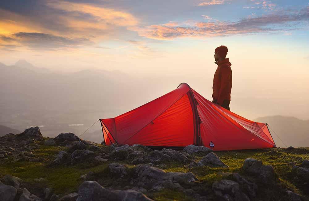 Namiot Robens na jesienne biwakowanie