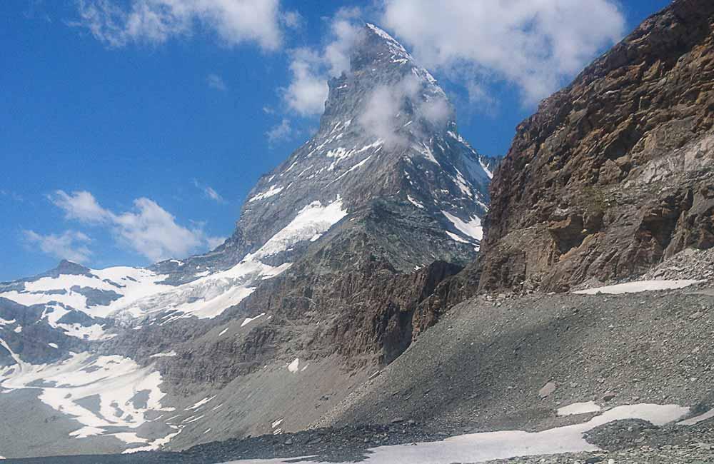 Wejście na Matterhorn drogą Hörnli