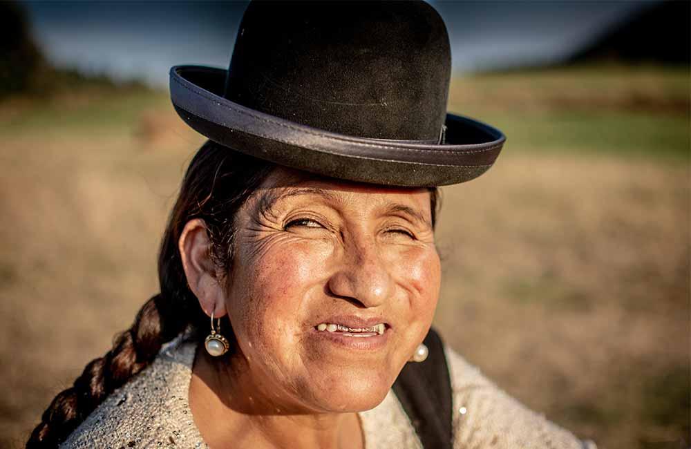 Mieszkańcy Boliwii