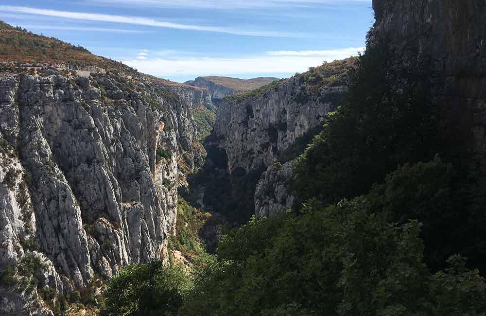 Wspinanie w kanionie Verdon