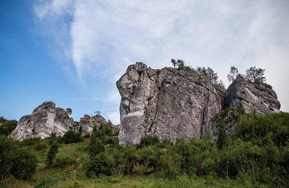 Gdzie się wspinać w Mirowie i Bobolicach