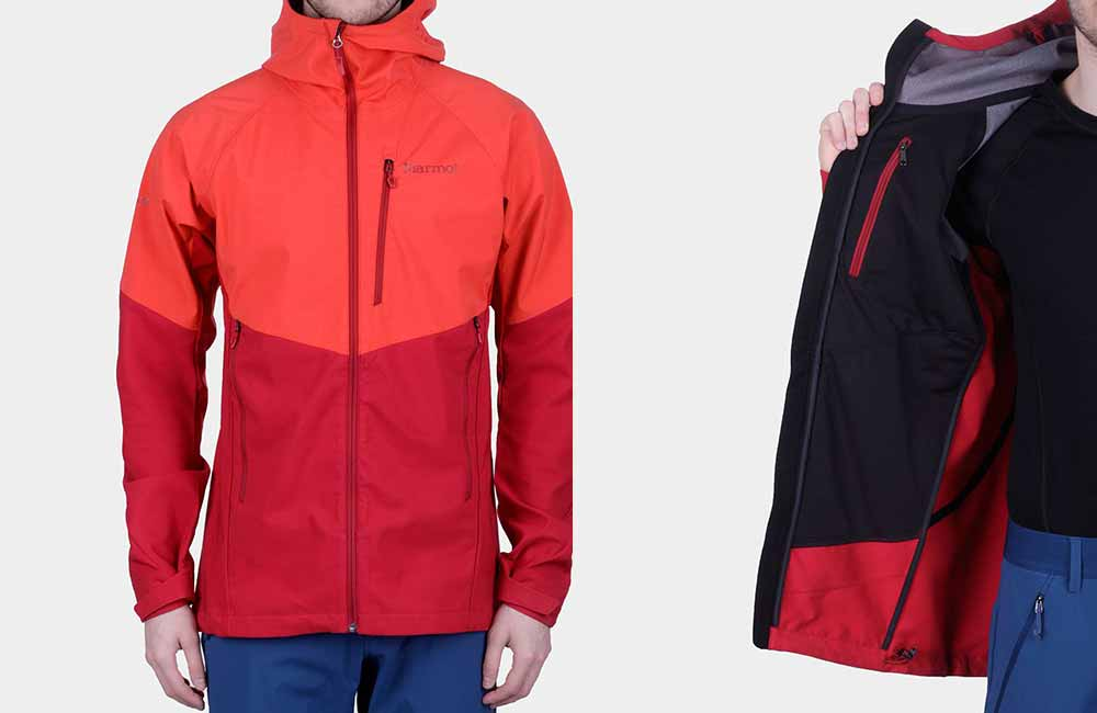 Softshell Marmot ROM Jacket z membraną Windstopper®