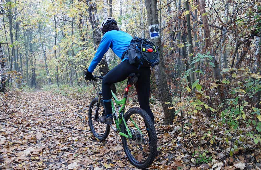Test skarpet wodoszczelnych Bridgedale StormSock na rowerze.