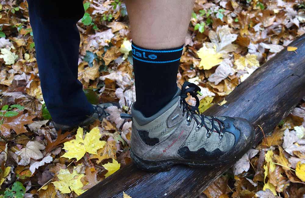 Test skarpet wodszczelnych w butach trekkingowych