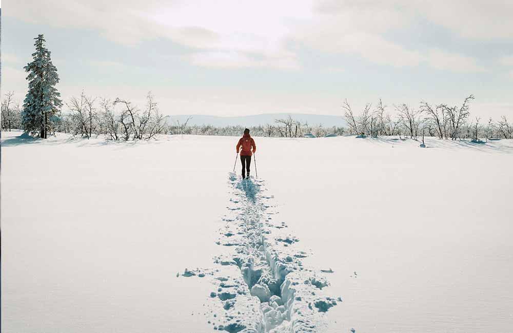 Zimowa wycieczka w góry