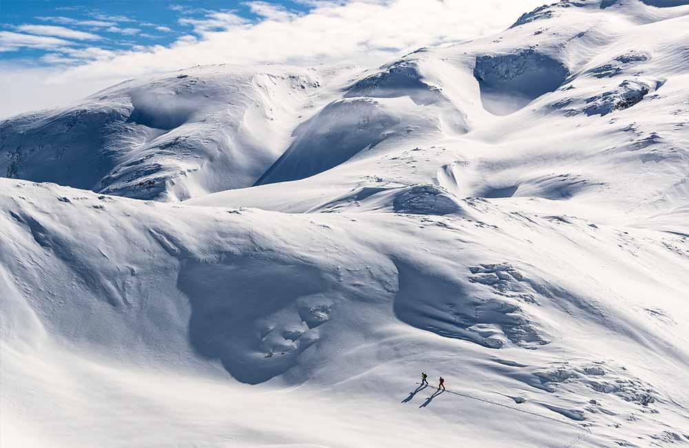 Lawiny w górach