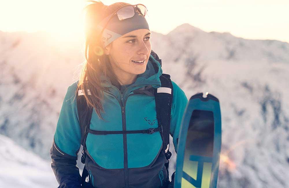 Softshell na skitury