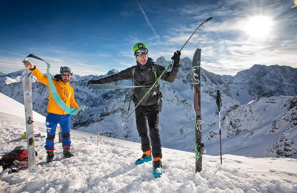 Jak założyć foki na narty?