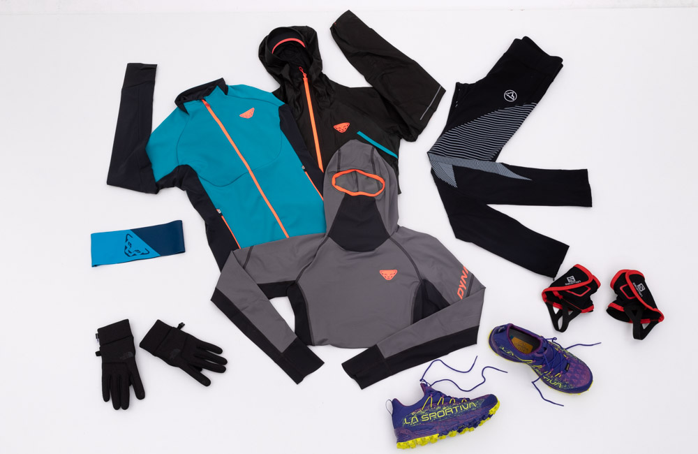 Odzież do biegania w zimie dla pań.