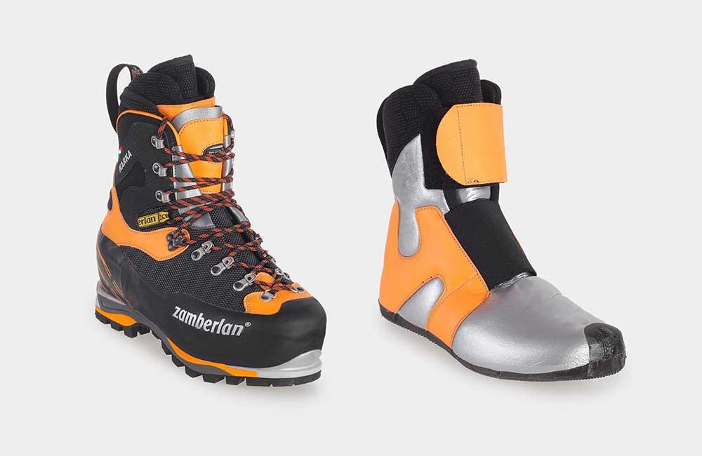 0483e272cdd4e Jakie buty zimą w góry? Na największe mrozy przygotowane jest  specjalistyczne obuwie z wewnętrznym botkiem - takie jak Zamberlan Karka  6000 EVO RR (fot.