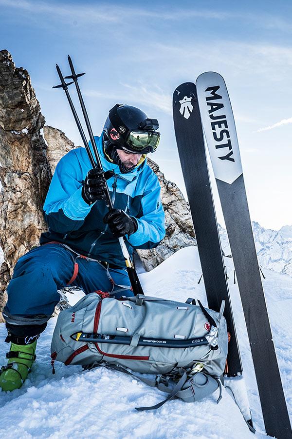 narty skiturowe jak dobrać