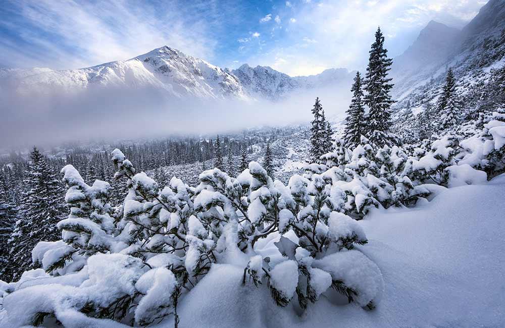 Zimowe tatrzańskie widoki