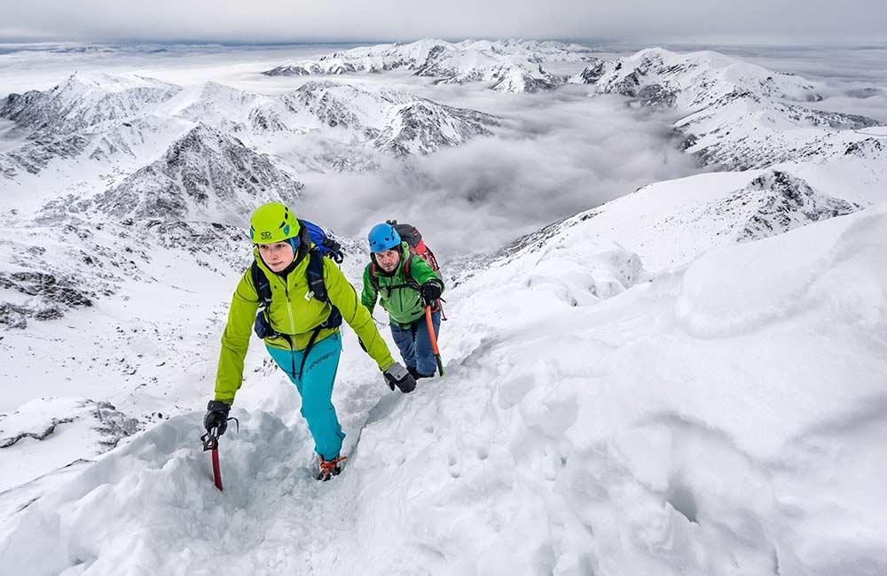 Zimowy trekking w Tatrach