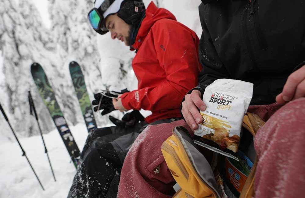 jedzenie na wyprawę w góry