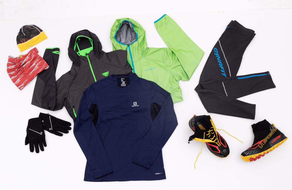 Idealny zestaw odzieży do biegania zimą.