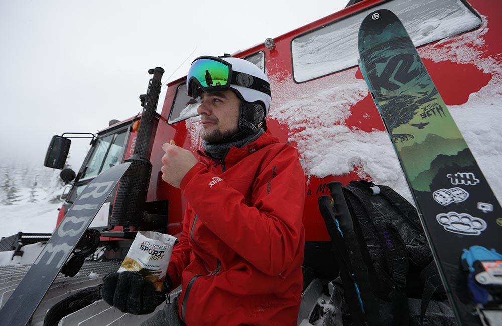 Jedzenie na skitury