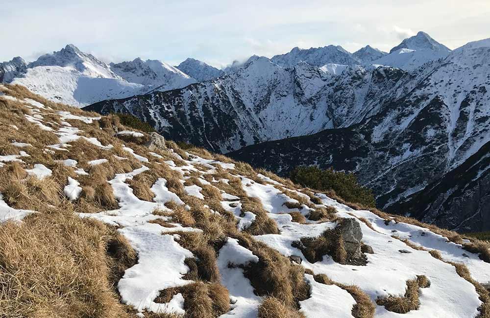 Wyjście na Giewont zimą