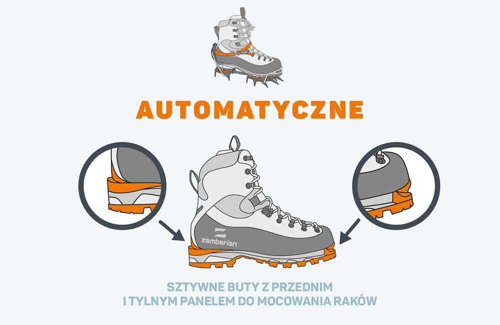 Buty do raków automatycznych