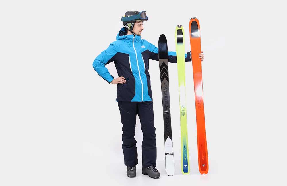Jak dobrać długość nart do wzrostu?