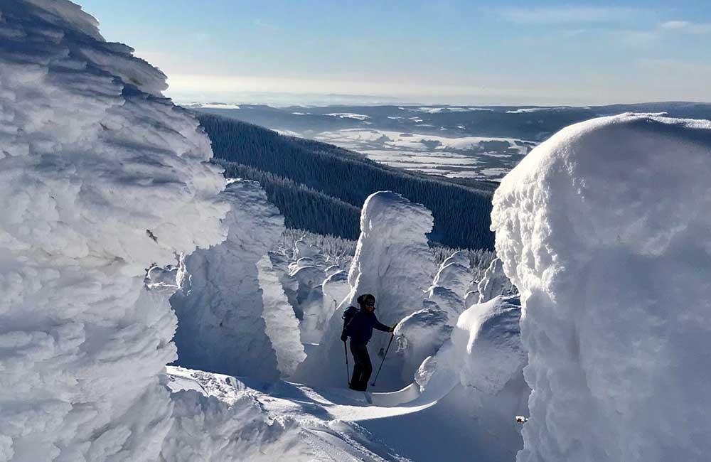 formacje śniegowe