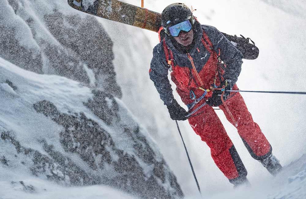 Uprząż skialpinistyczna