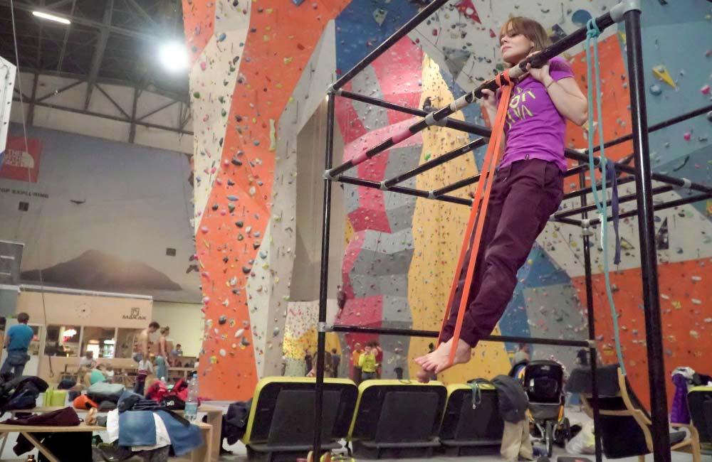 Jak się rozgrzać przed treningiem wspinaczkowym