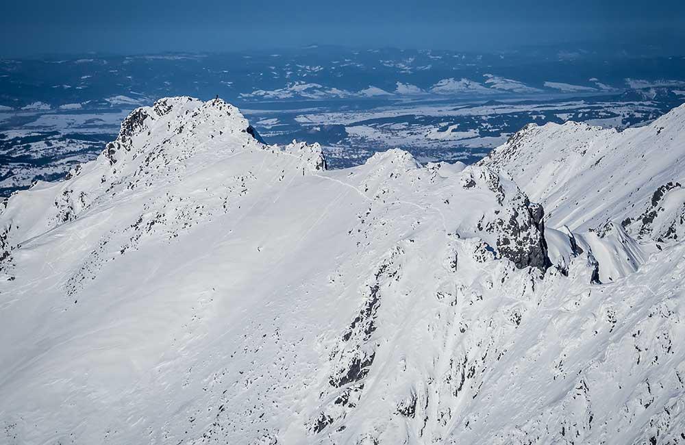 Trasy zimowe w Tatrach