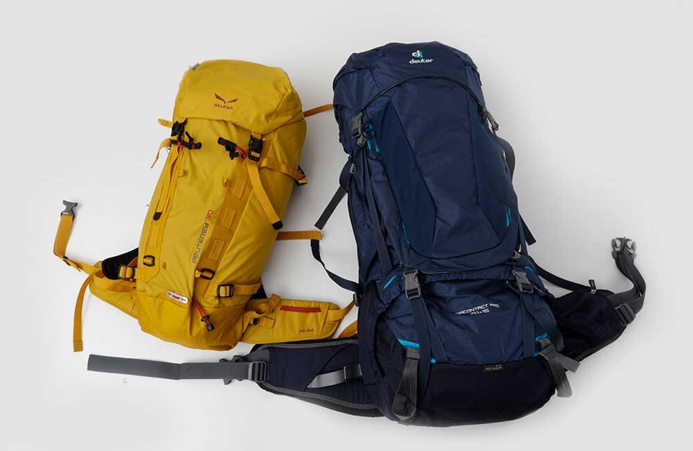 5-tysięcznik bagaż - plecaki podróżne