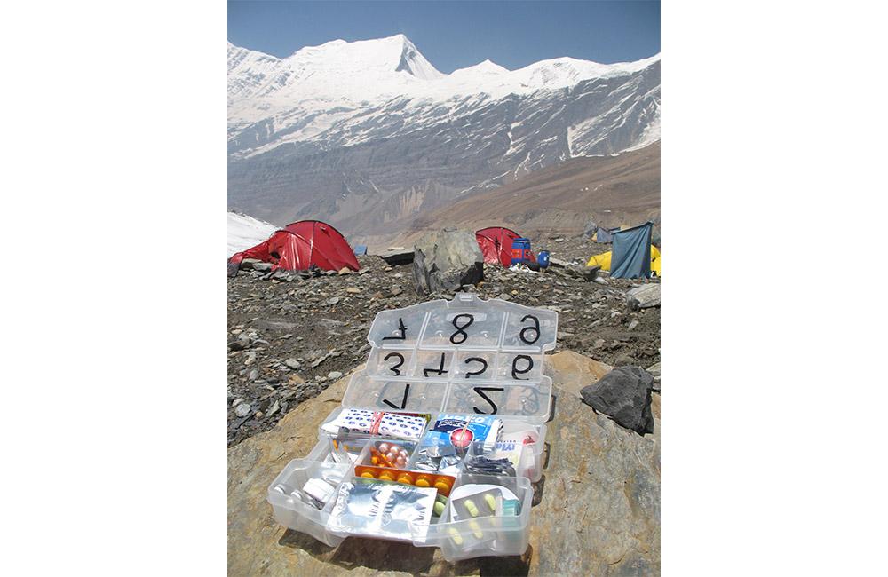 apteczka na wyprawy górskie