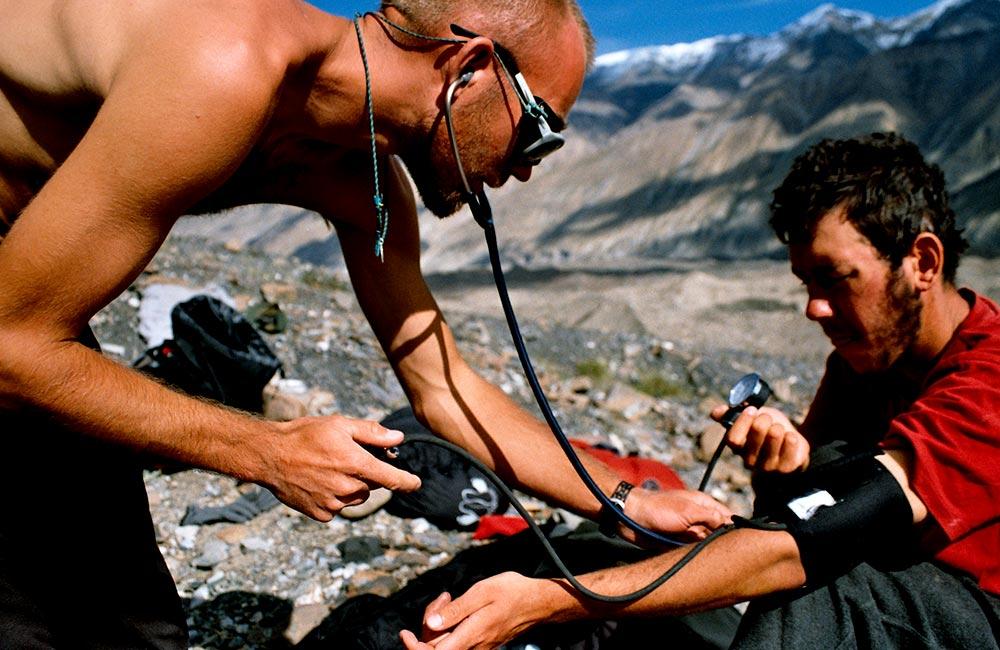 Wyprawy górskie - badanie lekarskie