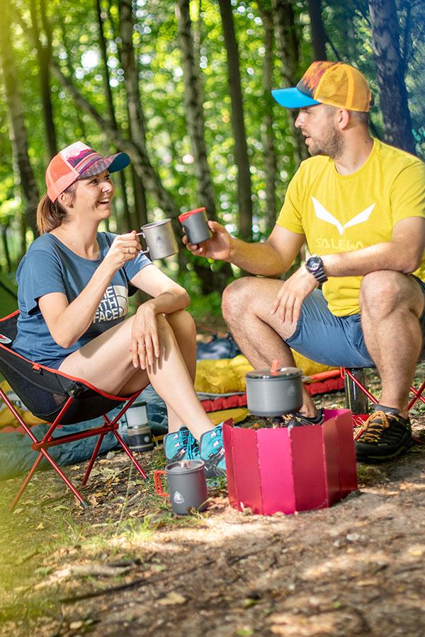 Najlepsze naczynia na camping i biwak