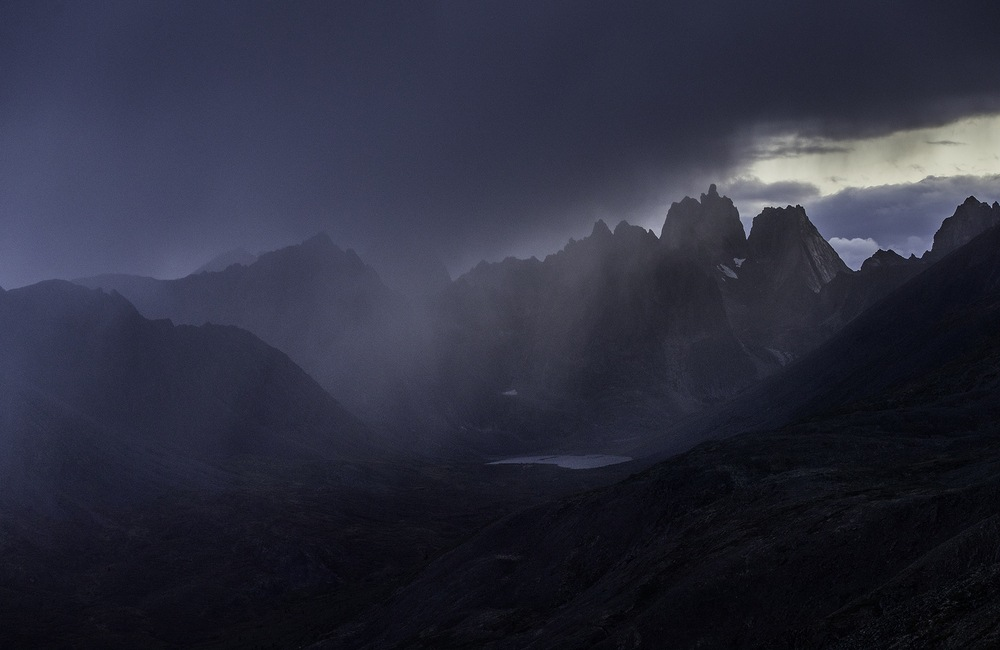 opady w górach mogą być niebezpieczne