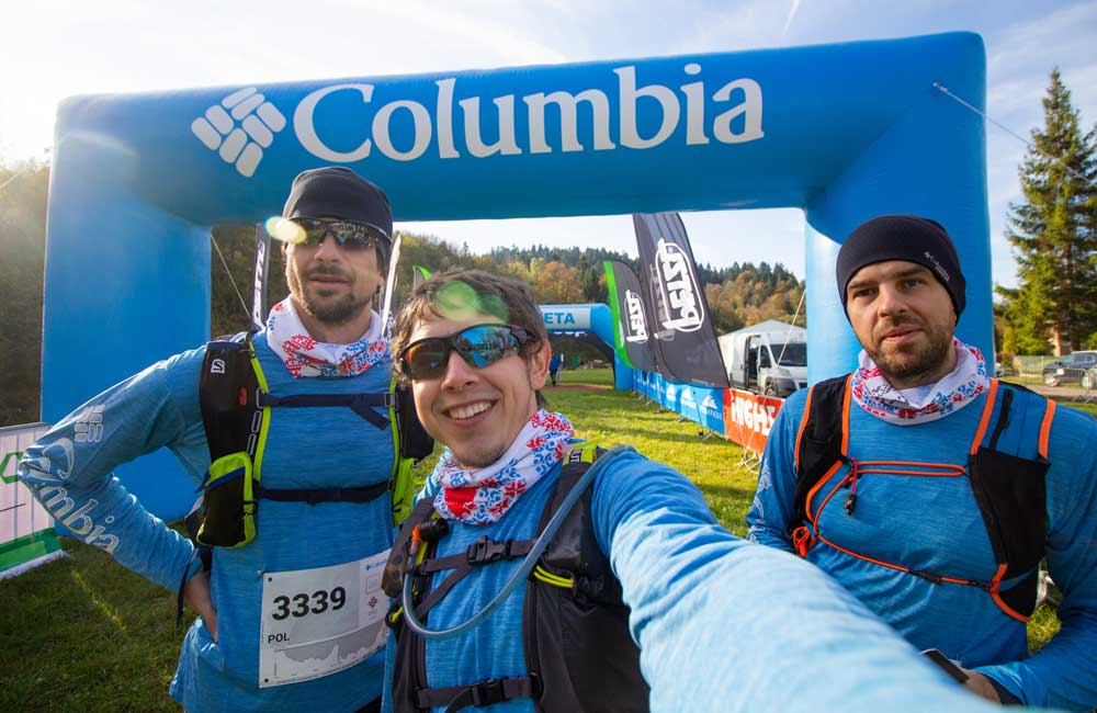 Columbia Montrail test na Lemkowyna Ultra Trail