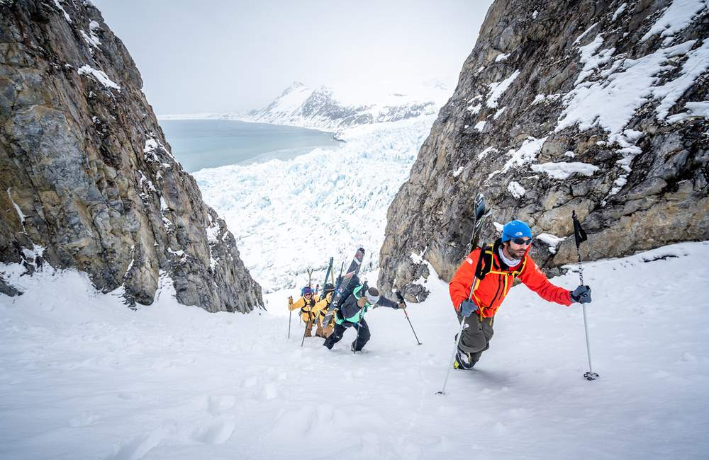 Spitsbergen (Svalbard) na skiturach