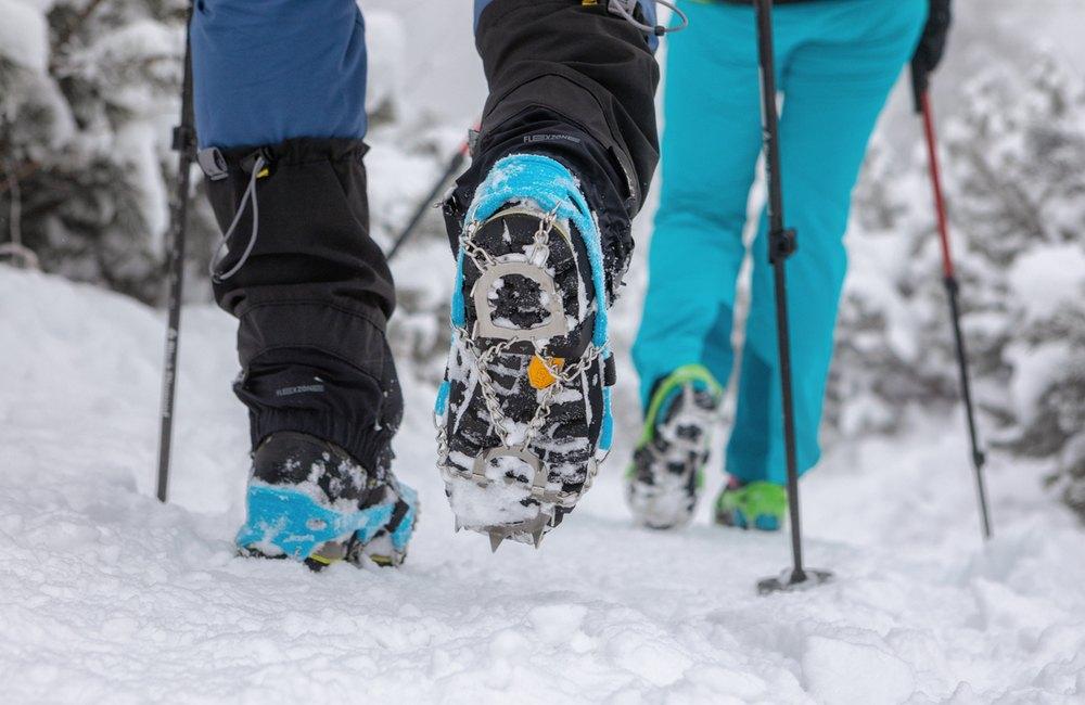 stuptuty doskonale sprawdzają się na zaśnieżonych szlakach