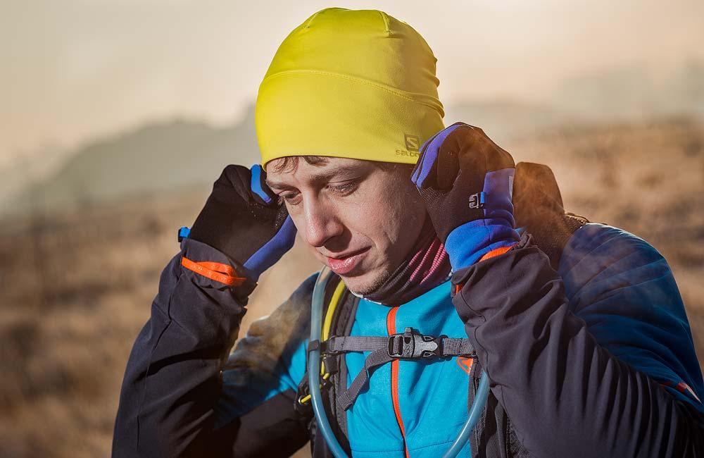 czapka do biegania zimą